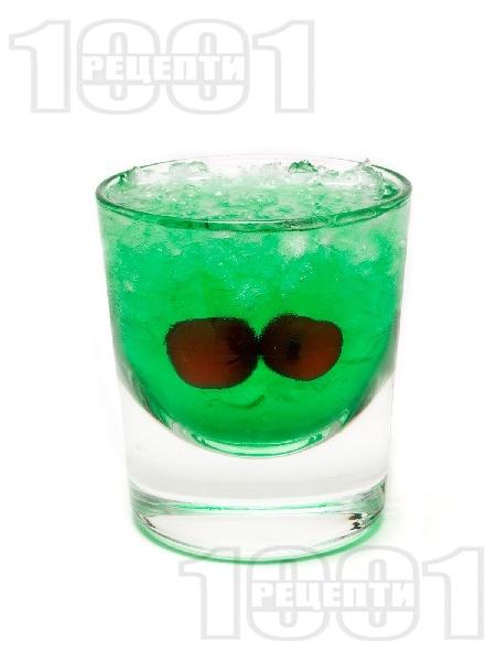 Коктейл Зелен Дракон (Green Dragon) - снимка на рецептата